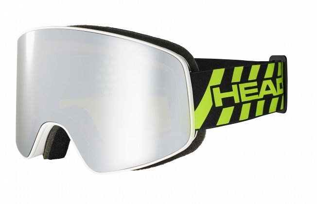 Маска горнолыжная HEAD Horizon Event White/Black/Lime